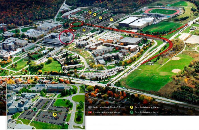 Plan d'accès - Centre culturel - UdeS
